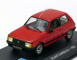 Talbot / Simca Samba GL 1981-1986 rot  1:43 von Altaya / IXO