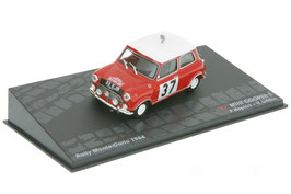 Mini Cooper S #37 Rally Monte Carlo 1964 P. Hopkirk / H. Liddon rot / weiss