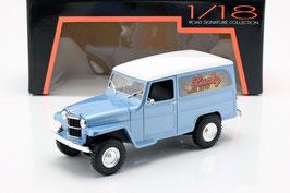 Jeep Willys Station Wagon Cargo 1954-1965 hellblau met. / weiss