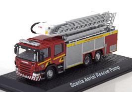 Scania P340 2004-2016 Aerial Rescue Pump / Feuerwehr rot