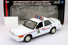 "Ford Crown Victoria 1997-2011 ""Royal Canadian Mounted Police"" weiss"