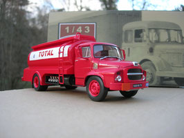 "Unic MZ 36 Saverne Tankwagen ""Total (F) 1965"" rot / weiss"