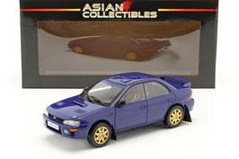 Subaru Impreza STI Street Legal WRX 1996 dunkelblau / gold