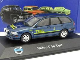 """Volvo V40 I Phase II 2000-2004 """"Tull / Zollbehörde Schweden dunkelblau met."""