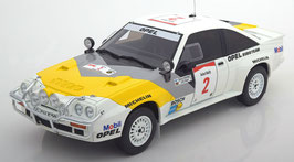 Opel Manta 400 Gr. B #2 Safari Rallye 1985 R. Aaltonen / L. Drews weiss / gelb