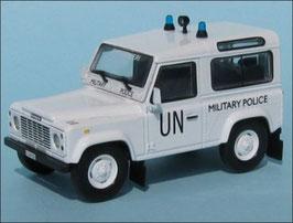 Land Rover Defender 90 1990-2016 UN / Carabinieri weiss