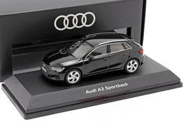 Audi A3 Sportback Y8 seit 2020 Mytos schwarz