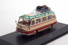 Setra S 6 Reisecar 1959-1966 rot / beige