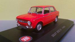 Seat 850 E 4-Türer 1967-1974 rot