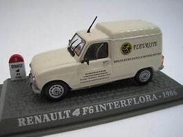 """Renault 4 F6 Fourgonette 1975-1990 """"Interflora"""" beige"""