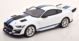 Ford Mustang Shelby GT500 Dragon Snake 2020 weiss / blau