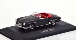 Mercedes-Benz 190 SL W121BII 1955-1963 schwarz