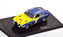 Ford Capri I #2 Rallye DM Baltic 1972 W. Röhrl / J. Berger blau met. / gelb / Decor