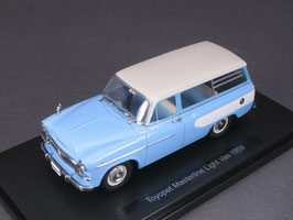 Toyopet Masterline Light Van 1957-1961 hellblau / weiss