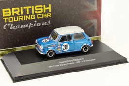 Austin Mini Cooper S #261 BTCC Champion 1969 Alec Poole