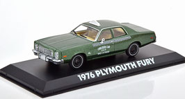 Plymouth Fury 1975-1978 Checker Cap TAXI Film Beverly Hills Cop 1984 grün met.