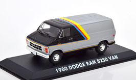 Dodge Ram B250 Street Van 1980 silber met. / schwarz / Decor
