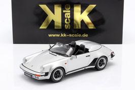 Porsche 911 Speedster 1989 silber met.