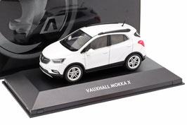 Vauxhall / Opel Mokka X Phase II 2016-2019 RHD Abalone weiss met.