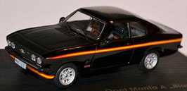 Opel Manta A / Black Magic 1975 matt-schwarz / orange