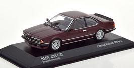 BMW 635 CSi E24 Phase II 1982-1987 Burgundrot met.