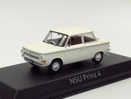 NSU Prinz 4 1961-1973 weiss