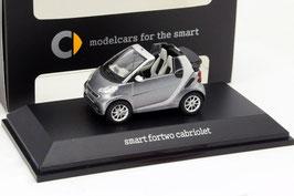 Smart Fortwo Cabriolet 2007-2016 grau / silber / schwarz