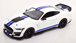 Ford Mustang Shelby GT500 Fast Track 2020 weiss / blau / schwarz