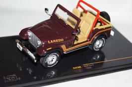 Jeep CJ-7 Laredo 1980-1986 dunkelrot met.