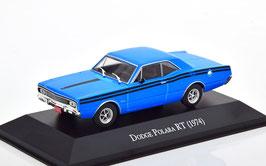 Dodge Polara Coupé R/T 1974 blau / schwarz