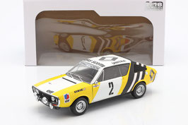 Renault 17 Gordini No.2 Rallye Polen 1976 Krupa / Mystkow gelb / weiss / schwarz