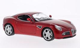 Alfa Romeo 8C Competizione 2007-2009 dunkelrot met.