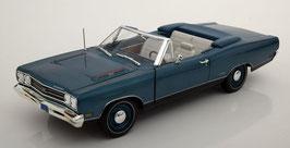 Plymouth GTX Convertible 1969 blau met.
