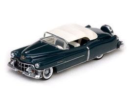 Cadillac Eldorado Convertible 1953 Verdeck weiss geschlossen dunkelblau met.