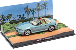 "BMW Z3 Roadster Phase I 1995-1999 hellblau met. ""James Bond 007 Edition Goldeneye 1995"""
