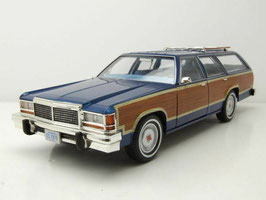 Ford LTD Country Squire 1979-1982 dunkelblau / Holzoptik