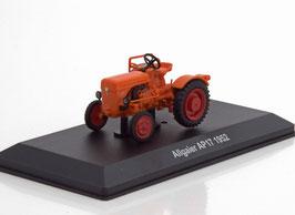 Allgaier AP17 Traktor 1950-1952 orange / rot