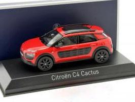 Citroën C4 Cactus seit 2014 rot / schwarz