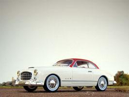Simca Comete Monte Carlo 1955 weiss / rot