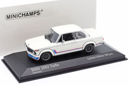 BMW 2002 Turbo 1973-1974 Chamoix weiss / Decor