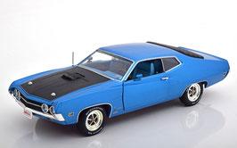 Ford Torino Cobra 1970 blau met. / schwarz