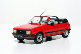 Talbot Samba Cabrio 1982-1985 rot