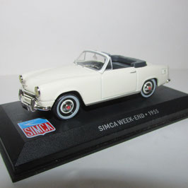 Simca Weekend Cabriolet 1954-1957 creme