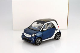 Smart Fortwo III Coupé C453 seit 2014 blau / weiss