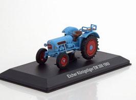 Eicher Königstiger EM 300 Traktor 1959- 1968 hellblau / rot