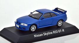 Nissan Skyline R33 GT-R 1993-1998 RHD blau met.