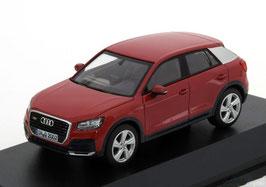 Audi Q2 GA seit 2016 Tango rot / silber