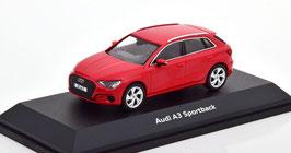 Audi A3 Sportback 8Y seit 2020 rot