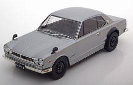 Nissan Skyline 2000 GT-R KPGC-10 1970-1971 RHD silber / schwarz