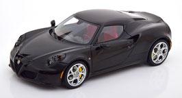 Alfa Romeo 4C Coupé 2013-2020 schwarz